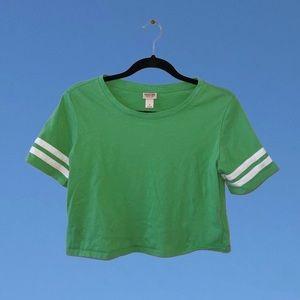 Cute lil' mint green top!